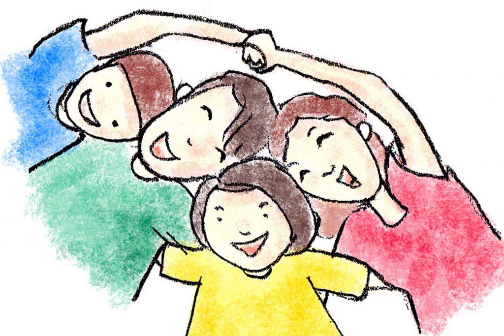 子供2人の「4人家族」が日本のファミリーの典型